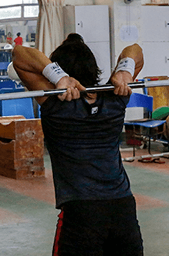 Chinese weightlifting wrist wraps