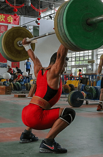 chinese weightlifting belt